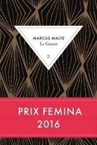 Marcus Malte : Le garçon