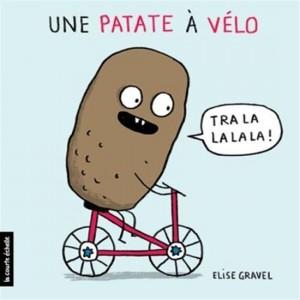 Élise Gravel : Une patate à vélo